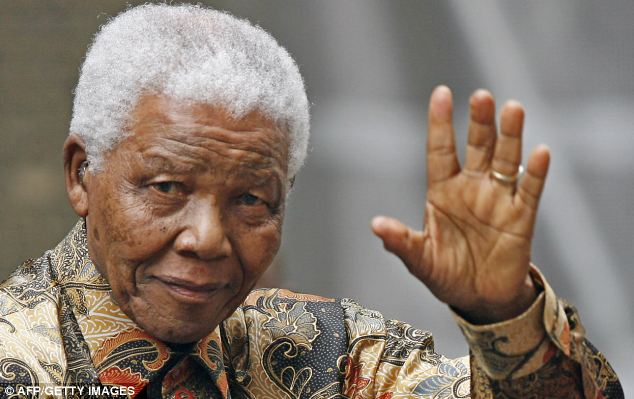 'Lost trust': Nelson Mandela is said to have put £1million of his money in a trust fund to stop his family arguing over it