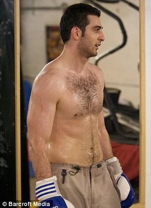 Goofy: Tamerlan Tsarnaev practices boxing at the Wai Kru Mixed Martial Arts center in April 2009 in Boston, Massachusetts