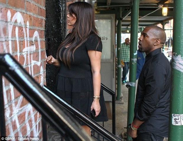 Here goes: Kanye has got Kim's back
