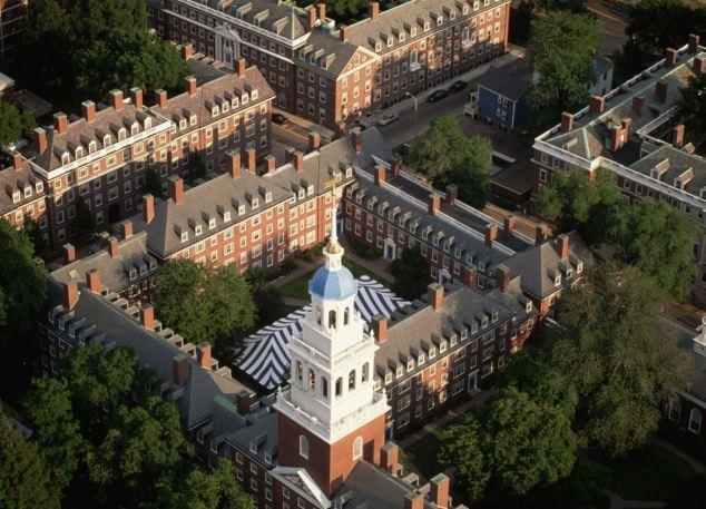 Harvard Yard aerial