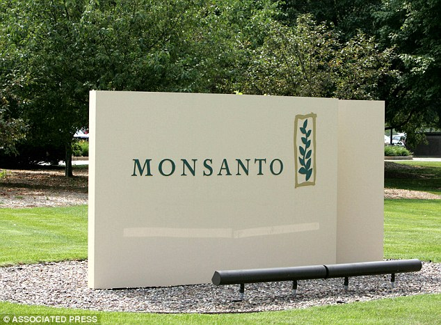 Agriculture giant: Monsanto is the developer of both Roundup herbicide and genetically altered crops meant to to withstand being sprayed with the weed killer