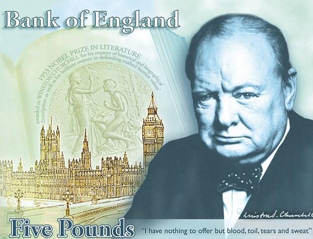 Pound 5 note Polymer