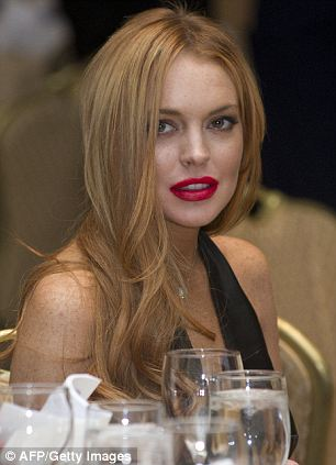 Tipping point: Brokaw wasn't in attendance at last year's function where Lindsay Lohan was seen as a 'star guest', but he spoke out about it afterwards saying that it was wrong