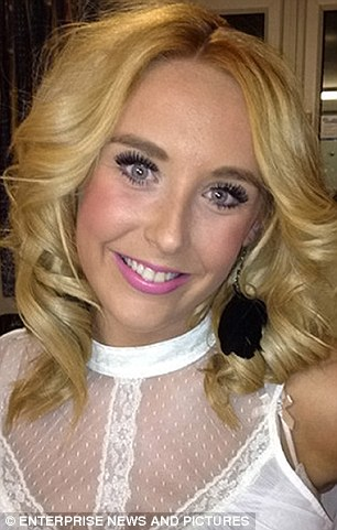 Tragic: Bethany, Jones, 18, killed in the horrific smash on the M62, was described as 'amazingly talented'