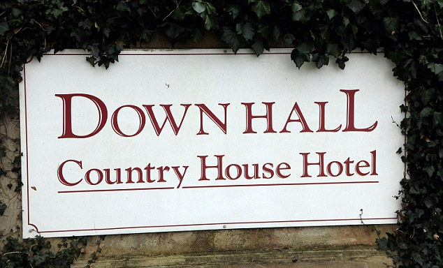 The hotel, on the Hertfordshire border, is a popular wedding venue. Jade Goody tied the knot there in 2009