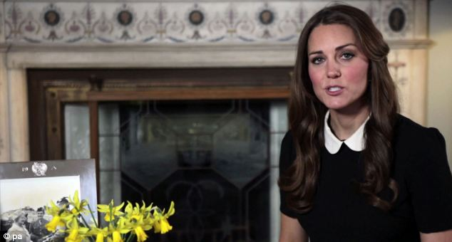 The shopping trip came at a busy time for the Duchess, who yesterday gave her first public video message appealing for support for Children's Hospice Week