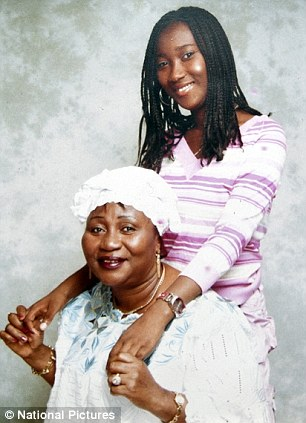 Josephine Newahun Foday and her grandmother Theresa Farma who described her as a 'loving granddaughter'dead in the swimming pool of Down Hall Country House Hotel in Hatfield Heath, Essex