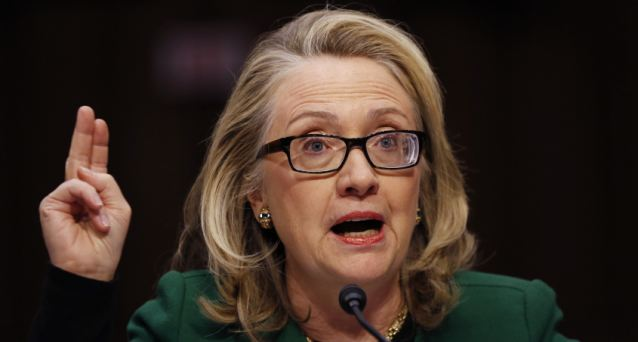 Then-Secretary of State Hillary Clinton testified before a congressional committee about Benghazi, asking 'What difference does it make?' whether the death and destruction was preplanned or spontaneous
