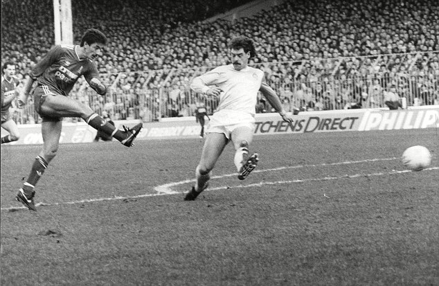 Rushing in: Liverpool great Ian Rush (left) makes it into Jamie Carragher's British and Irish Lions XI
