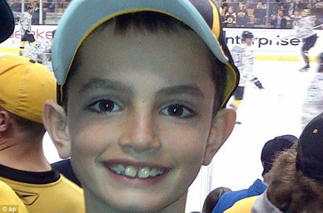 Eight-year-old Martin Richard was among the three people killed in the explosions at the finish line of the Boston Marathon on April 15