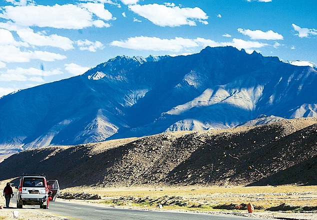 It is claimed Chinese soldiers have pitched in the barren Depsang Valley in the Ladakh region, a symbolic claim of sovereignty deep inside Indian-held territory