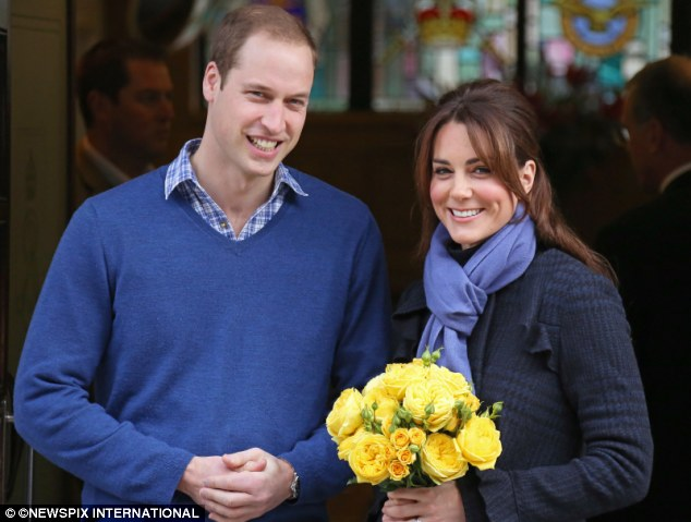 New beginning: The Duke and Duchess, pictured when the news broke of the royal pregnancy, are set to bring up the future King or Queen in a way never done before in the Royal family