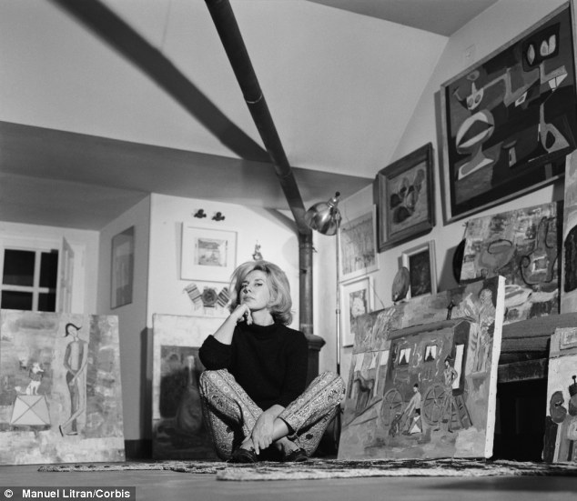 Muse: The art loving duchess, pictured in 1961, was once asked to pose for Picasso, but turned him down