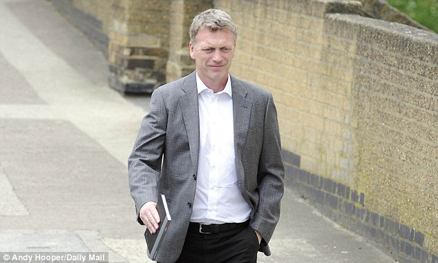 Much to contemplate: But Moyes has always appeared a sensible man