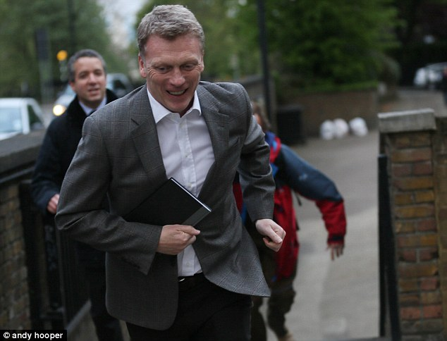 Athletic? The Scot's certainly a better mover than Sir Alex Ferguson