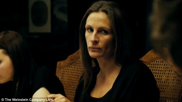 Mother daughter tension: Julia Roberts plays Violet's daughter Barbara in the film
