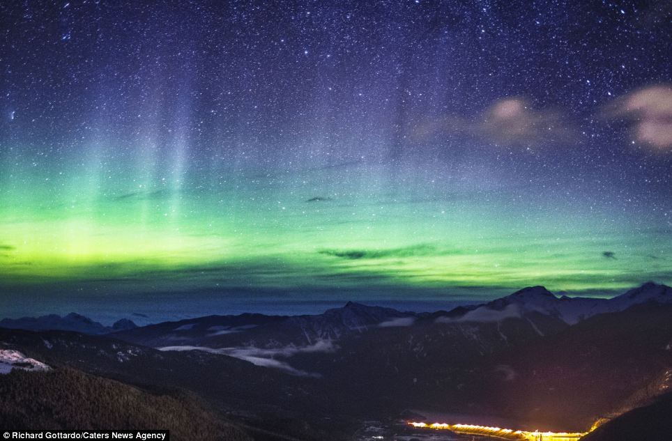 Northern Light Activity Forecast