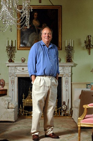 Family links: Samantha Cameron's father Sir Reginald Sheffield is the 8th Baronet Hylton