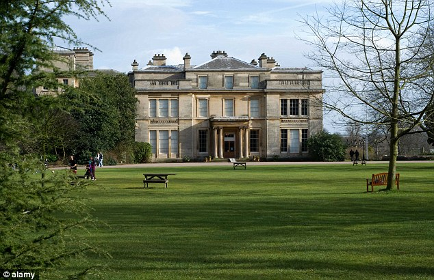 Historic: Normanby estate, near Scunthorpe, has been in Samantha Cameron's family since the 16th Century