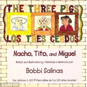 Dedicated: Salinas' version of The Three Little Pigs featured details that incorporated Chicano culture