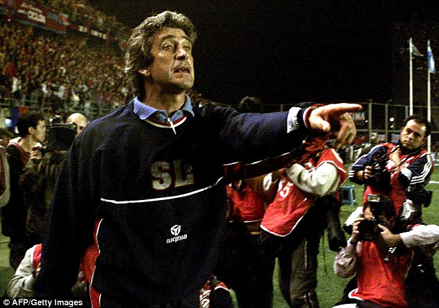 Spice things up: Chilean Manuel Pellegrini is a widely respected coach despite his lack of major trophies