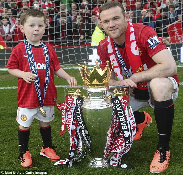 Problems: Rooney was left out of United's game against Swansea after requesting a transfer