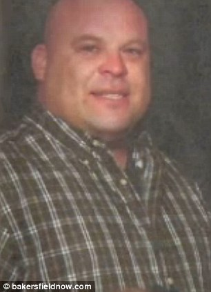Tragic: David Silva, pictured, was allegedly beaten to death by sheriff's deputies on Wednesday