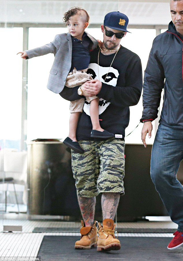 Nicole Richies Son Sparrow Shows He Can Do Cool Hair Just