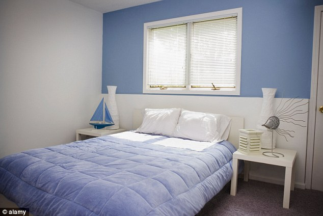 Calming: People with a blue bedroom manage to get the most sleep per nightCalming: People with a blue bedroom manage to get the highest number of hours of sleep