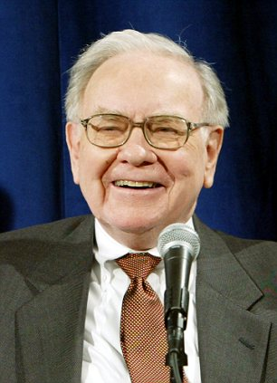 Financial magnate Warren Buffet