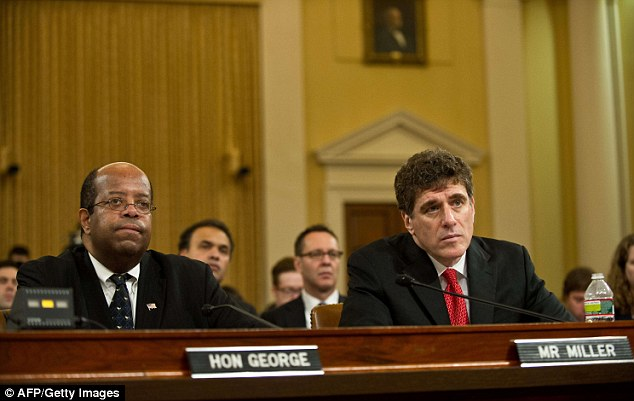 Revelations: J. Russell George, the Treasury inspector general for tax administration, testified that Treasury officials were made aware of the probe into allegations of harassment against tea part groups last June