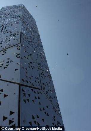 Pic By HotSpot Media - TOWER OF BEES -IN PIC-