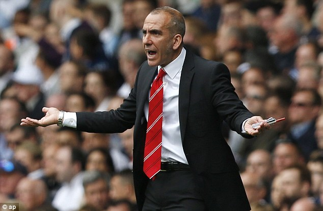 Not happy: Paolo Di Canio is frustrated at the PFA's involvement