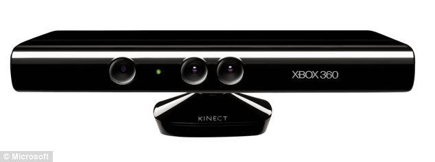 Kinect Sensor for Xbox 360.