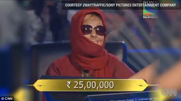 Sonali won Rs 25 lakhs when she played Who Wants To Be A Millionaire in December last year