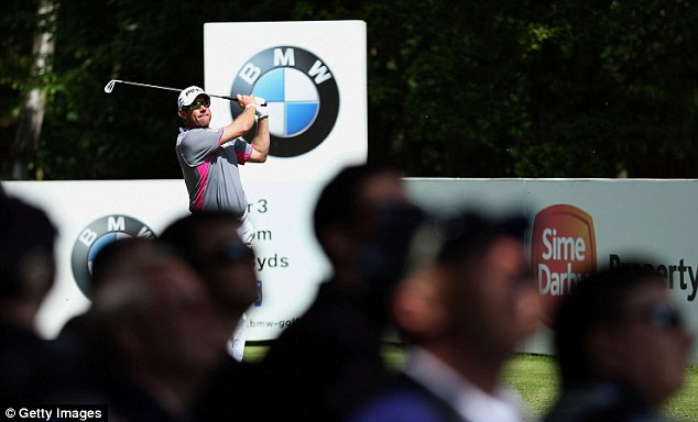 Fell away: Despite early good form, Lee Westwood barely made the top 10 at Wentworth