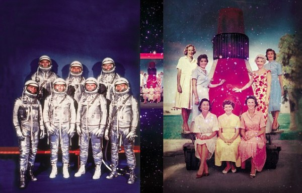 In the 1960s, while Nasa's astronauts performed heroics in ...