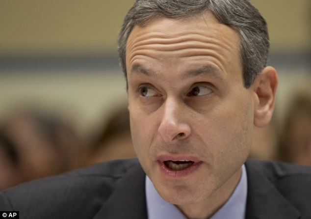 Former IRS Commissioner Douglas Shulman testified on Capitol Hill on May 22, 2013 before the House Oversight and Government Reform Committee