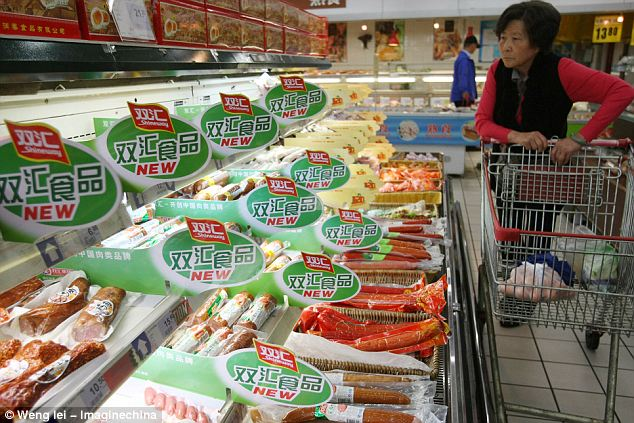 Big business: The $4.7 billion deal would lend even more sway to the Shuanghai group, China's biggest meat producer, and would be the largest takeover of a US company by a Chinese firm ever