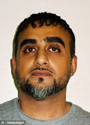 Hussain Aziz, 32, of Birmingham - six-and-a-half years.