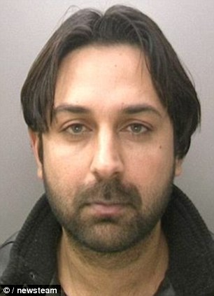 Khayam Naseem Chib, 31, of Kings Heath, Birmingham, four years