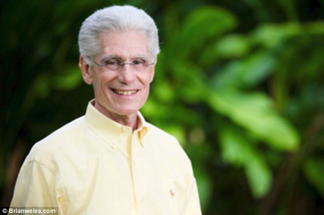 Two of a kind: Amy's father Dr. Brian Weiss has written two books on past life regression, the most recent of which 'Miracles Happen,' he co-wrote with Amy