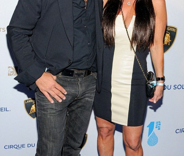 Cheating Allegations Mauricio Umansky Shown In March With Wife Kyle Richards In Las Vegas