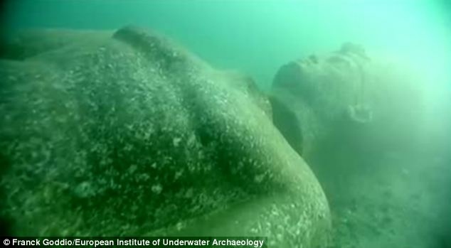 Heracleion was mentioned by the Greek historian Herodotus, who told of Helen of Troy visiting the city with her lover Paris before the Trojan war