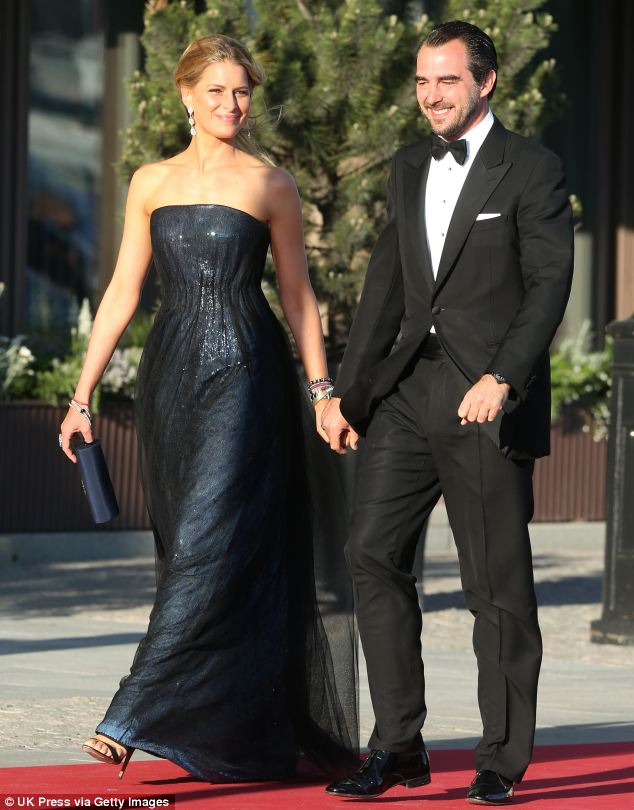 Princess Tatiana of Greece and Prince Nikolaos attended the dinner. The nuptials will include a private wedding reception with an estimated 500 guests