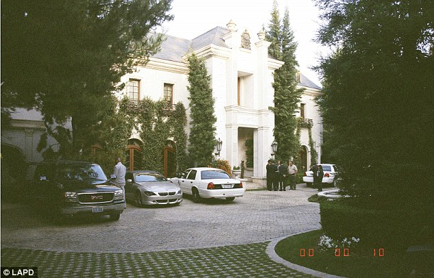 Investigation: Police quickly arrived on the scene at Jackson's mansion following his tragic death in 2009