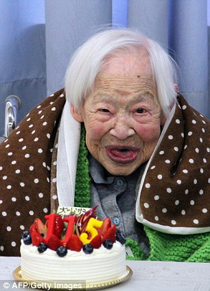 New recordholder: Mr Kimura's death means 115-year-old Tomohito Okada from Osaka, Japan is now the world's oldest person