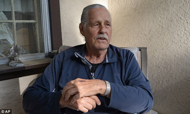 Gordon Gnasdoskey, a long-time neighbor of Michael Karkoc, 94, says he has known Karkoc for many years and was stunned to learn about his Nazi past