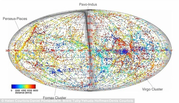 The beautiful 3D map of space that plots our nearest ...