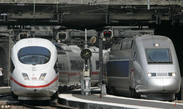 The TGV high speed train and ICE Inter City Express duet is an important collaboration between often rival rail giants, France's SNCF and Deutsche Bahn